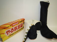 Ninja Boots. Yaruki tabi. Japan Ninja Costume.Size 28.0cm.Color Black.
