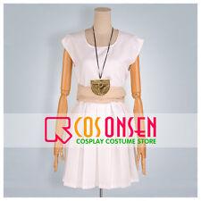 Cosonsen Magi The Labyrinth of Magic Morgiana White Dress Cosplay Costume