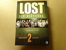 4-DVD BOX / LOST / LES DISPARUS - SEIZOEN 2 - DEEL 1