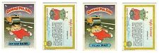 Flat Pat / Run Down Rachel 1985 Garbage Pail Kids (GPK) Mini Card #31b /32b
