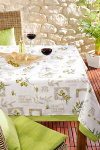 Table Runner Marsala Olive
