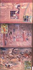 Vatican City Sc# 1392-4: 2008 Pauline Year, Maxi Cards