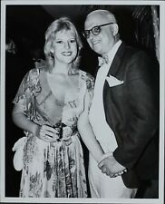 George Christy (Reporter), Meredith Mac Rae ORIGINAL PHOTO HOLLYWOOD Candid 1981