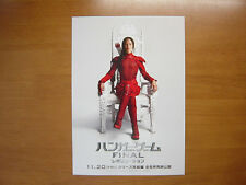 The Hunger Games: Mockingjay - Part 2 MOVIE FLYER mini poster Japanese