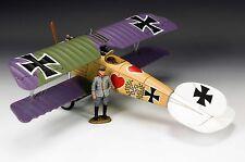 KING & COUNTRY FIRST WAR FW105A GERMAN ALBATROS DV FIGHTER MIB