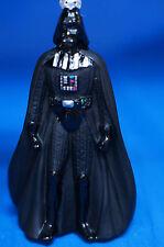 "Disney Star Wars Darth Vader 5"" Blown Glass Figurine Christmas Ornament Tag 2012"