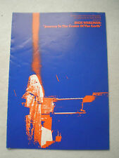 Rick Wakeman Journey to the Centre of the Earth Tour Concert Programme 1974 Yes