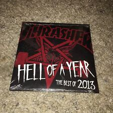 Brand New Sealed Thrasher Skateboarding Magazine Hell of a Year 2013 Dvd