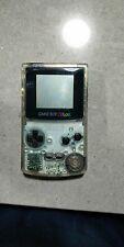 100% ORIGINAL CLEAR NINTENDO GAMEBOY COLOR Colour Game Boy Transparent GBC