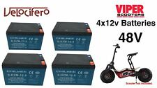 Electric Scooter Velocifero 48 V Pack de batterie, pour 1600 W Scooters. CEE