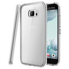 Para HTC u ultra-resistente delgada TPU Gel caso cubierta de piel clara
