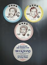 1976 BUCKMAN'S DISC  TEAM SET MT NY KNICKS 10 SETS WALT FRAZIER BILL BRADLEY EM