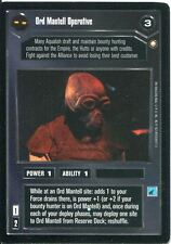 Star Wars CCG Special Edition Ord Mantell Operative