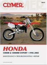 Clymer SERVICE MANUAL - HONDA CR80R (97-02)