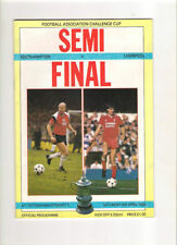 FA Cup Home Teams S-Z Southampton Final Football Programmes