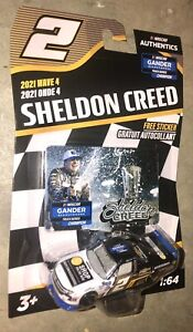 Nascar Authentics Sheldon Creed #2  Gander Outdoors Champion 2021 Wave 4