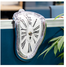 Novel Surreal Melting Distorted Wall Clocks Surrealist Salvador Dali Style Wall