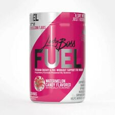 LadyBoss Fuel, Watermelon Candy, Premium energy & pre-workout support for women