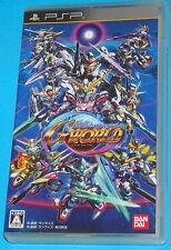 SD Gundam G Generation World - Sony PSP - JAP
