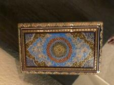 inlaid gold coin jewelry box hand made hand inlaid wood brass camel bone high e