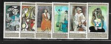 GUINEA - BISSAU Sc 416-19,C32-33 NH issue of 1981 - ART OF PICASSO