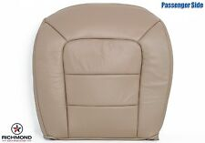 02 Ford Explorer Sport Trac Choice -Passenger Side Bottom Leather Seat Cover Tan