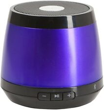 HMDX Jam Classic Purple Mini Portable Wireless Bluetooth Speaker Speakerphone
