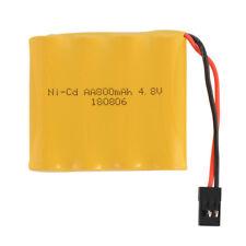 4.8V 800mAh AA Ni-Cd RX Receiver Transmitter Battery JR Futaba Connector BC763
