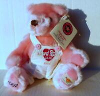 Hard Rock Cafe Paris Valentine's Pink Herrington's Teddy Bear Club 2002 #80