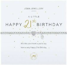 a Little Happy 50th Birthday by Joma Jewellery - Bracelet & Gift Bag