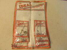 Ideal Pan Fish Crappie Rig Lot of 6 On Display Card Dubois PA 2 Sz 4 & 4 Sz 6 J7