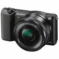 Sony Alpha a5100 24.3MP Mirrorless Digital Camera with 16-50mm Lens - Black