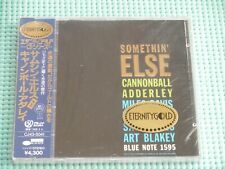 CANNONBALL ADDERLEY Promo 24K Gold CD Somethin' Else Japan NEW CJ43-5041 OBI