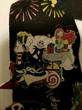 Disney Jack and Sally Train Pin LE 300