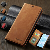 Magnetic Wallet Case Leather Flip Cover for Huawei P40 P30 P20 Lite Pro Mate 30