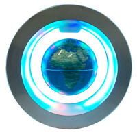 4.3inch Desk LED Light Decoration Magnetic Levitation Floating World Map Globe