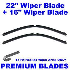 "AERO Multi-Clip 22"" Inch & 16"" Inch Pair Front Windscreen Wiper Blades"