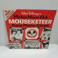 Mickey Mouse Club Mouseketeer Cast Photo Album, Printed in USA, Vintage Preowned