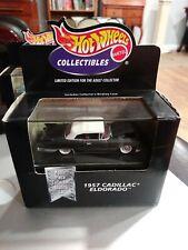 Hot Wheels Collectibles 1957 Cadillac Eldorado 1998 BLACK