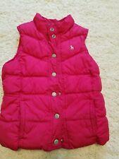 Old Navy Sz M Vest warm kids Pink winter fleece lined