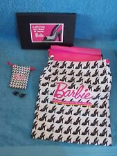 2012 Barbie Convention  Shoe Bag  Adult Size & Barbie Doll Size Shoe Bag