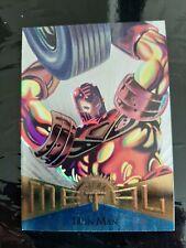 Fleer Marvel Metal Iron Man 1995 Card