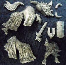 2002 chaos mounted champion de khorne citadel warhammer seigneur guerrier cavalerie gw