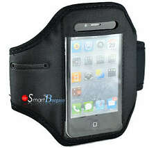 HIGH QUALITY BLACK SPORTS ARMBAND CASE COVER FOR IPHONE 4G 4GS