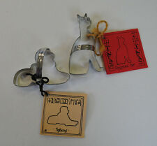 Egyptian Cat & Sphinx Cookie Cutter New Egypt Mau Feline Set of 2