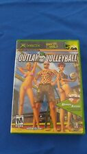 Outlaw Volleyball (Microsoft Xbox, 2003) Complete Sports Video Game CIB NR