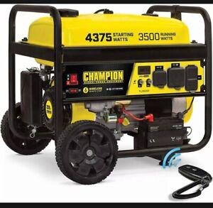 champion power Equipment 100554 4375/3500-Watt RV Ready Portable generator