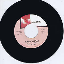 RAY MELTON - BOPPIN' GUITAR / WHO SAID I'D MISS YOU (Monster ROCKABILLY - Repro)