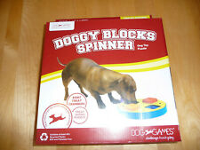Dog Games Doggy Blocks Spinner Dog Treat Hiding Puzzle NEW IN BOX #2743