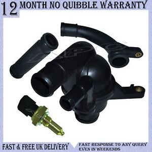 ROVER 75, 45, 800 THERMOSTAT AND HOUSING KIT WITH COOLING PIPE AND SENSOR